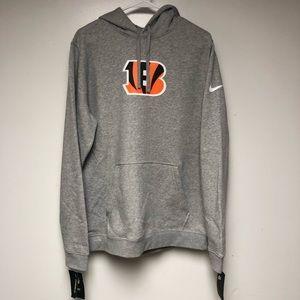 NEW Nike Cincinnati Bengals Hoodie Sweatshirt